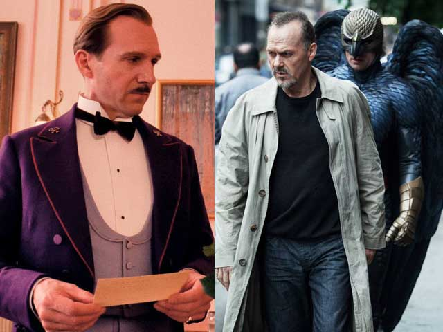 Birdman, The Grand Budapest Hotel Sweep ADG Awards