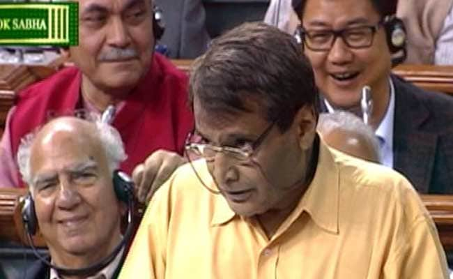 Railway Minister Suresh Prabhu Seeks Solution From Youth to Curb Ticketless Travel