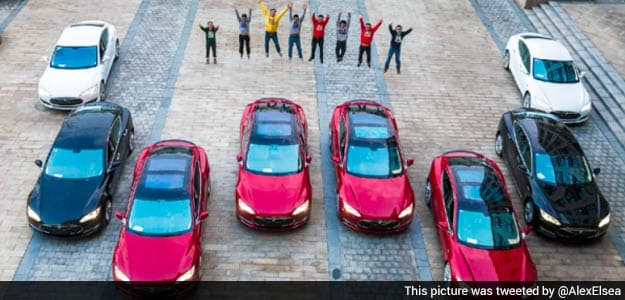 Start-Up Rewards Employees With Rs 75-Lakh Tesla Sedans