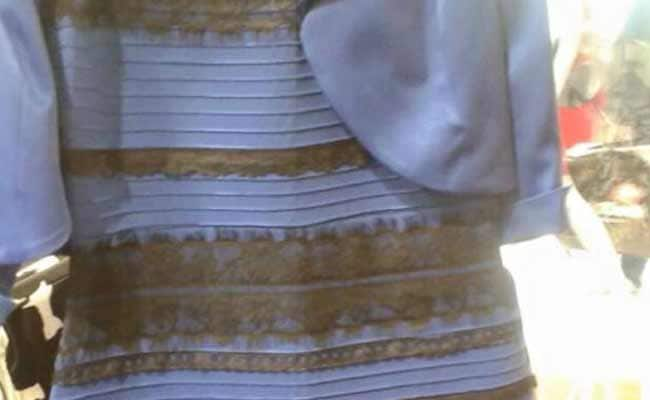 On Twitter, #The Dress Debate: Blue-Black or White-Gold?