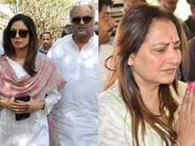 D Ramanaidu Cremated; Sridevi, Jayaprada Say Farewell