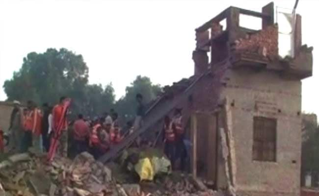12 Killed as Under-Construction House Collapses in Uttar Pradesh