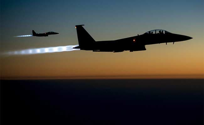 U.S. airstrikes target facilities in Syria