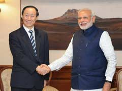 Prime Minister Modi Meets Visiting Chinese Senior Leader Wang Jiarui