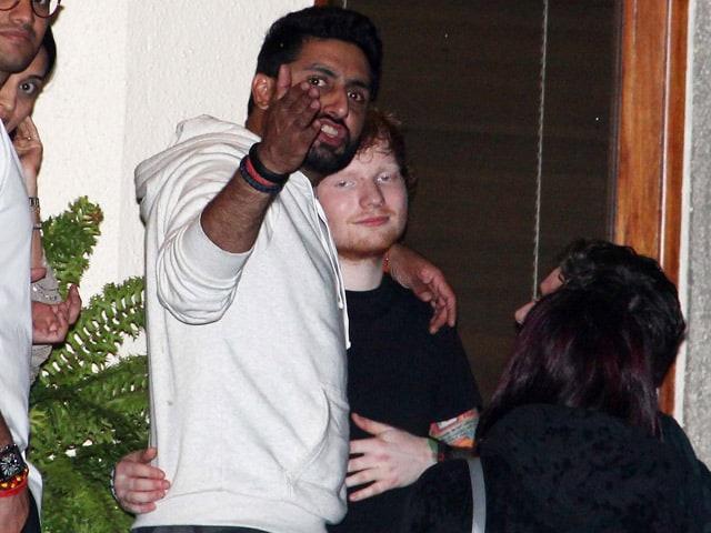 Ed Sheeran Performs in Mumbai, Parties with Bachchans, Aamir, Hrithik