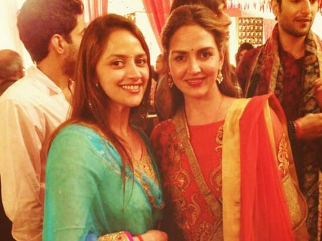 Esha Deol Hosts Baby Shower For 'Baby Sister' Ahaana