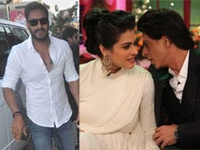 Ajay Devgn Too? Shah Rukh Khan, Kajol May Not be <i>Dilwale</i>'s Only Coup