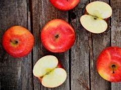 An Apple Carries About 100 Million Bacteria: Choose Your Apples Wisely!