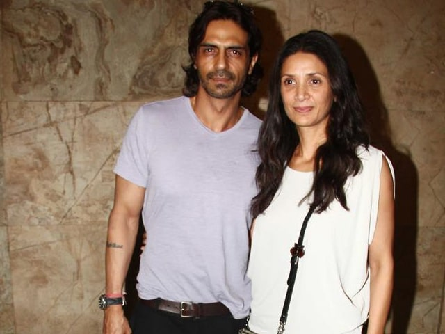 Angry Arjun Rampal Says it Wasnt Him and Mehr at Divorce Court