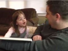 Little Girl Finds Out She's Going to be a Big Sister, Has the Most Epic Reaction Ever