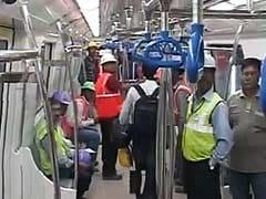 Bengaluru Metro Holds Test Run in 5-Kilometre-Long Tunnel