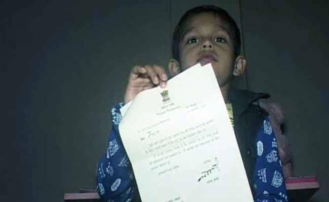 Birthday Gift For This 6 Year Old A Thank You Note From PM Modi