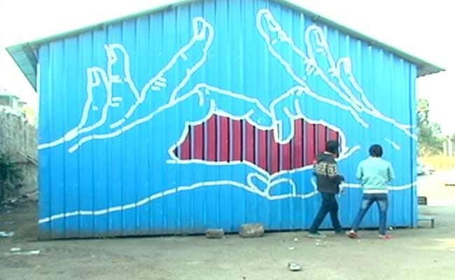 Art on Homeless Shelters: Making the Invisible Visible