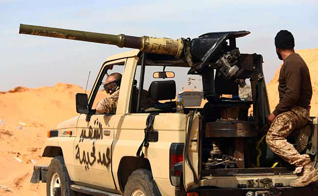 Powerful Libyan Militia Alliance in Rare Clash With Islamic State Group