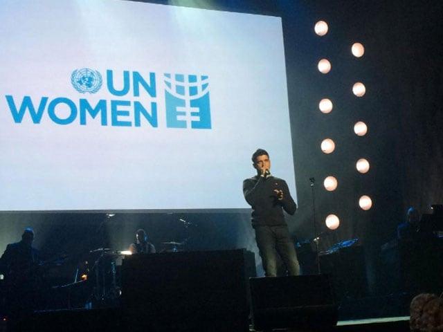 Farhan Akhtar Performs at UN Concert on Women's Empowerment