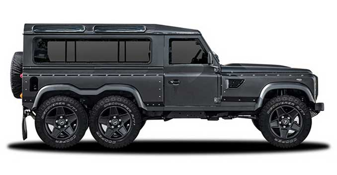 Kahn Design to Showcase Land Rover Defender 6x6 at the 2015 Geneva Motor Show