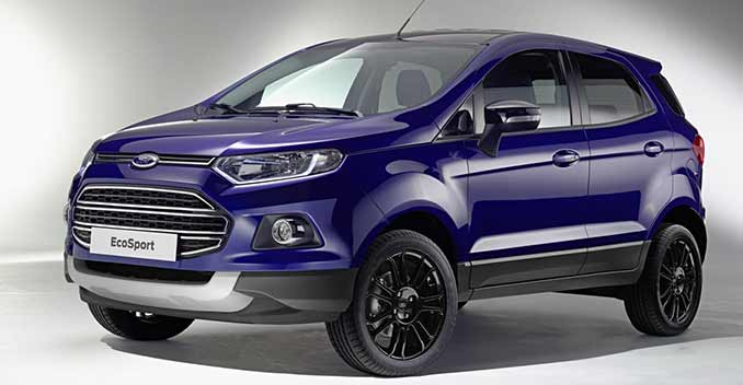 Ford EcoSport Facelift With Feature Upgrades Revealed ...