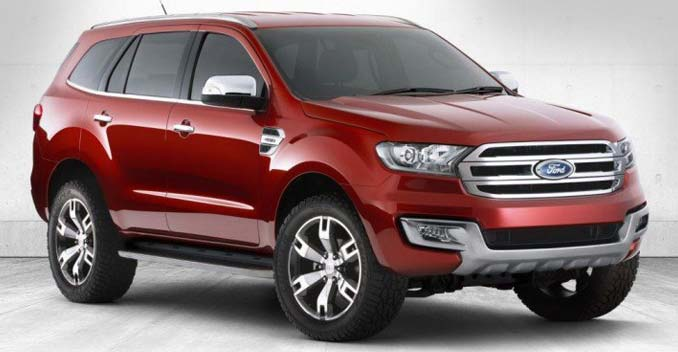 Next Generation Ford Endeavour Coming Soon to India