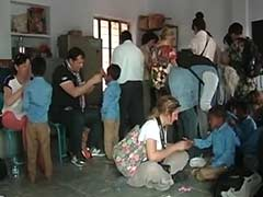 French Tourists In Rajasthan Renovate School In Remote Village