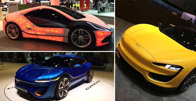 EDAG, Magna And Quant Concept Sports Cars At The Geneva