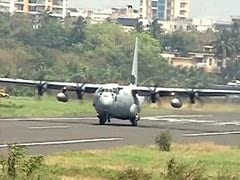 Air Force's Massive C-130J Super Hercules To Land On Agra Expressway
