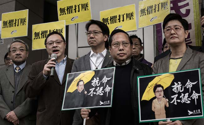 Hong Kong Lawmakers Arrested Over Democracy Protests
