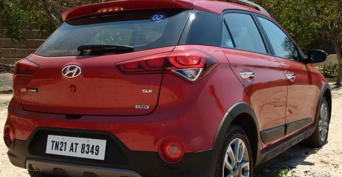 Hyundai i20 Active Crossover Rear