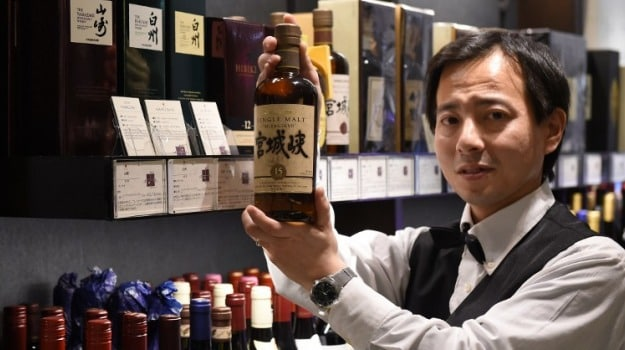 Whisky Demand Rocketing in Japan
