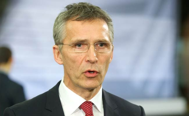 NATO Chief Jens Stoltenberg Says Russia Still Equipping Ukraine Rebels