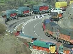 Jammu-Srinagar Highway Restrictions On Civilian Traffic Partially Relaxed