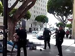Video Shows Los Angeles Police Shooting Homeless Man