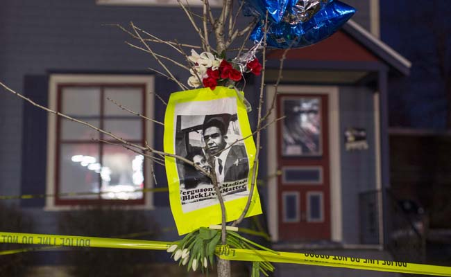 Demonstrators Protest US Police's Shooting of a Biracial Man in Madison