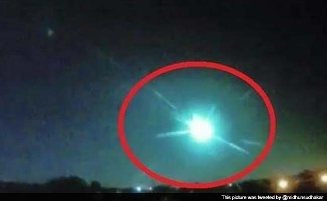 'Fireball' Spotted in the Sky Believed to Have Caused Crater in This Kerala Town