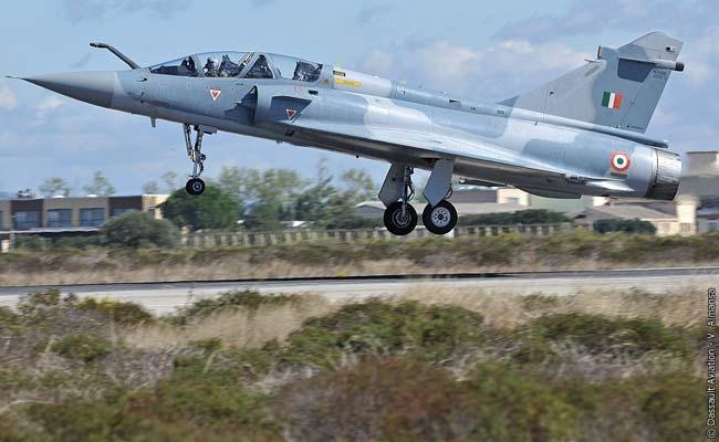 A Kuwaiti Mirage 2000c Fighter Aircraft During Operation Desert Storm Jpeg
