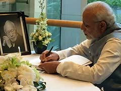 India Deeply Valued Lee Kuan Yew's Friendship and His Support, Says PM Modi