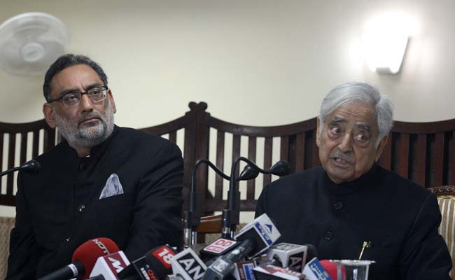 'Pakistan, Militants Allowed Conducive Atmosphere for Polls,' Says Mufti Mohammad Sayeed