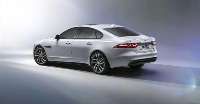Amazing New Jaguar XF   Rear