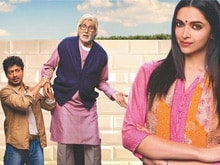 <i>Piku</i> Poster Gives a Peek into the Lives of Deepika, Big B, Irrfan