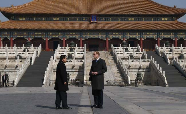 Prince William Meets China's Xi Jinping, Visits Sites