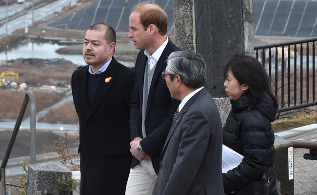 Prince William Travels to Tsunami-Hit Northeast Japan