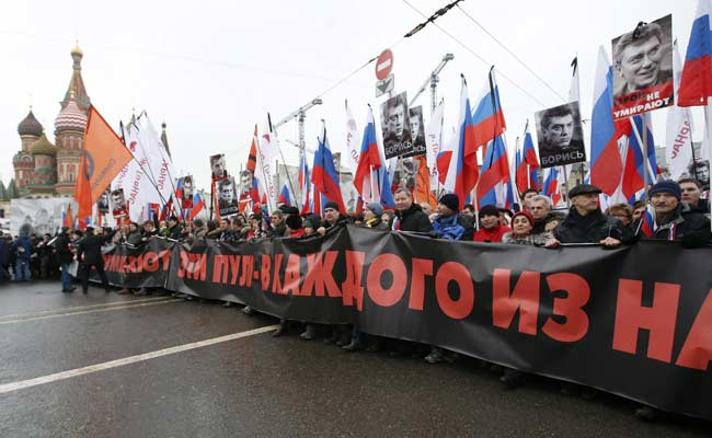 Russians to March in Memory of Assassinated Critic of President Vladimir Putin
