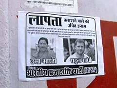 Oops Moment for Congress. Posters Ask 'Where is Rahul Gandhi'