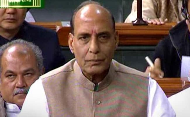 Will Take Strong Action Against Those Attacking Religious Places, Says Home Minister Rajnath Singh