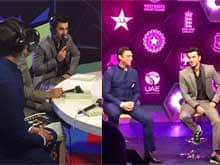 Ranbir Kapoor is 'Bigshot' in Commentary Box; Says Anushka is a Good Bowler