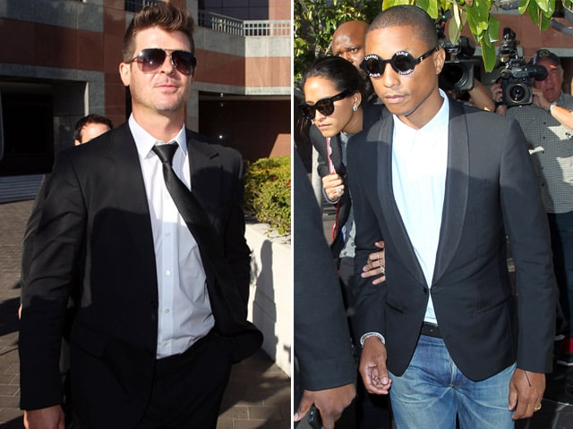 Robin Thicke, Pharrell Williams' Blurred Lines Copied From Marvin Gaye, Decides Jury