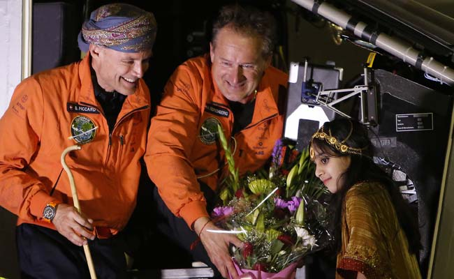 Solar Plane Starts Second Leg of Epic Round-the-World Bid