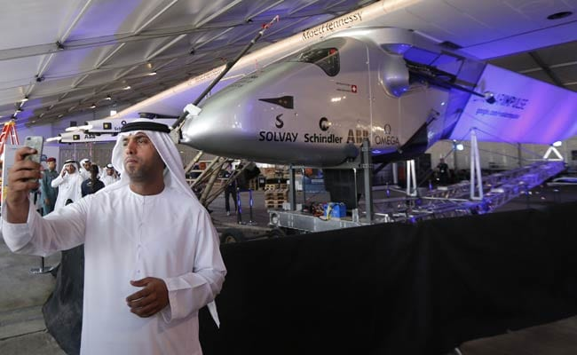 Pilots Set for First Round-the-World Solar Flight
