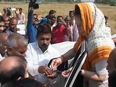 'I am Here on Behalf of Rahul,' Says Congress President Sonia Gandhi in Amethi