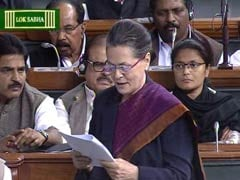 After Rahul, Sonia Gandhi Likely to Take On Government in Parliament Today