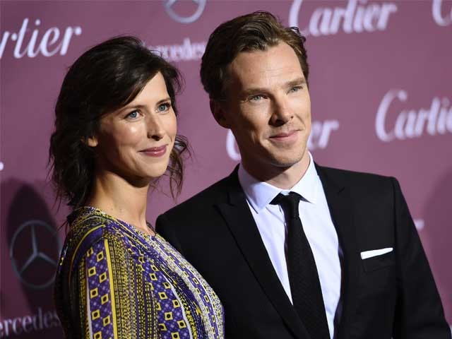 First Pic: Benedict Cumberbatch's Wife Sophie Hunter in Her Wedding Gown